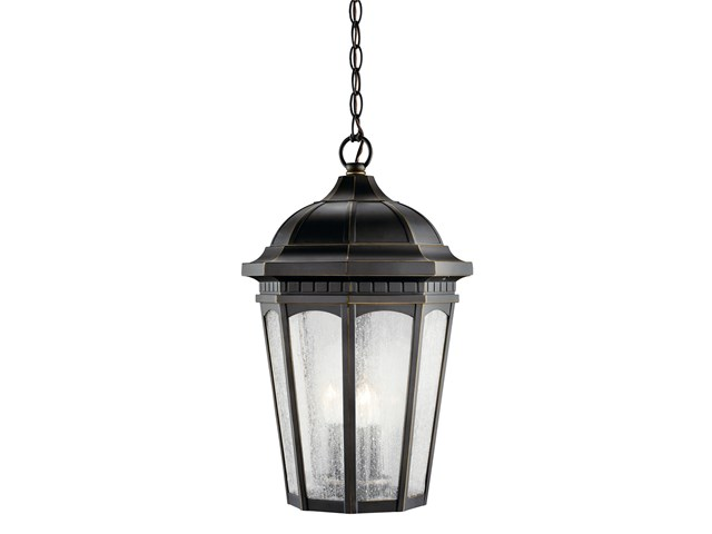 Courtyard 3 Light Pendant Rubbed Bronze™
