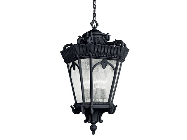 Tournai™ 4 Light Pendant Textured Black