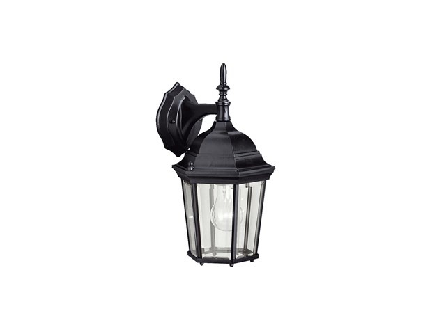 "Madison™ 14.75"" 1 Light Wall Light Black"