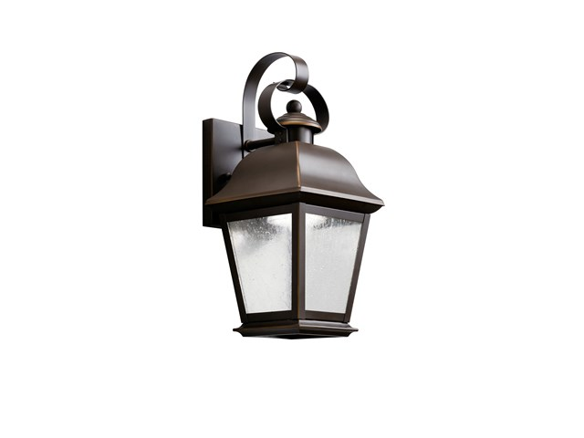 "Mount Vernon LED 12.5"" 1 Light Wall Light Olde bronze"