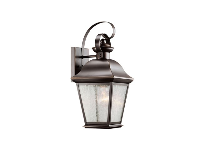 "Mount Vernon 16.75"" 1 Light Wall Light Olde Bronze®"