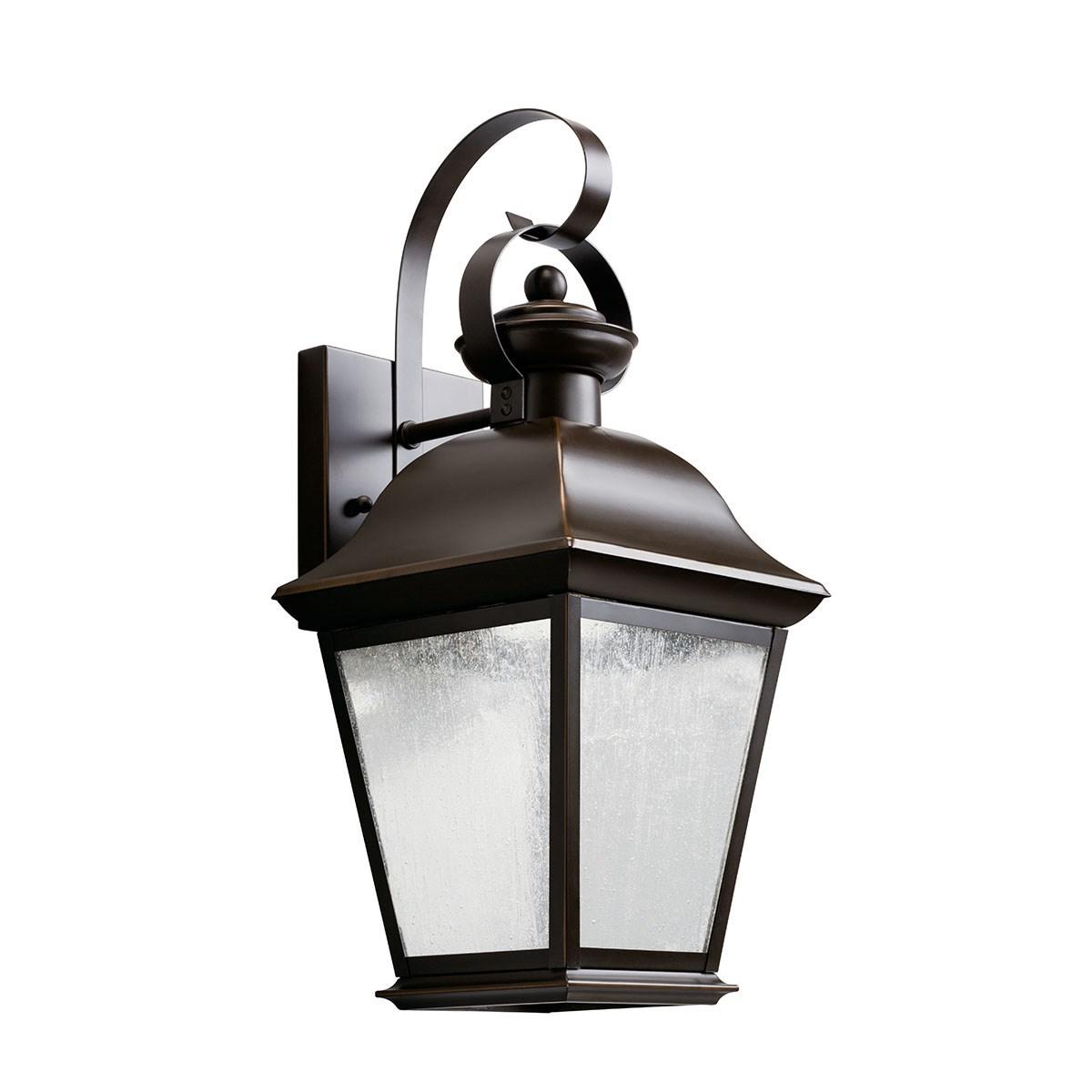 Mount vennon led 16 75 1 light wall light olde bronze