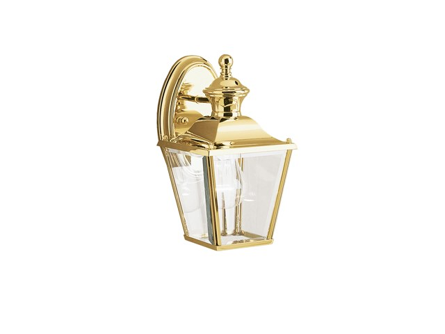 "Bay Shore 10.25"" 1 Light Wall Light Polished Brass"