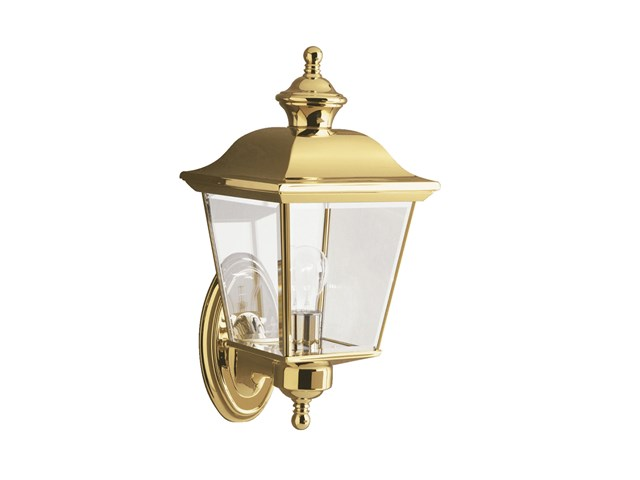 "Bay Shore 15.5"" 1 Light Wall Light Polished Brass"