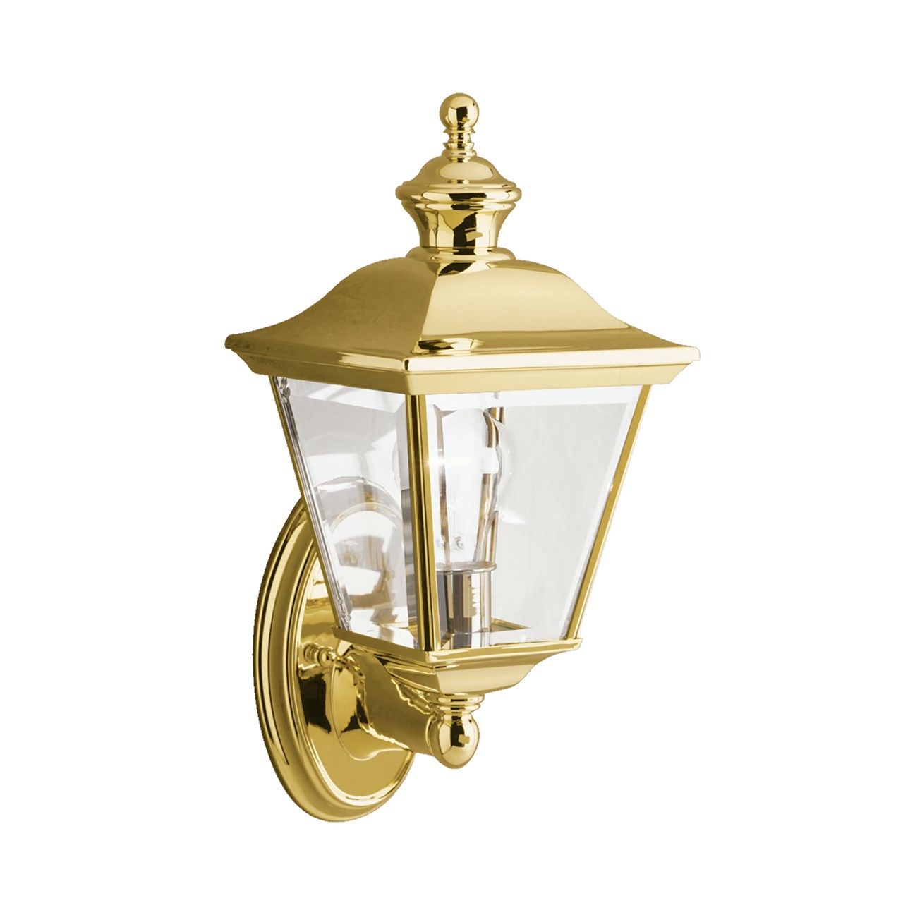 "Bay Shore 20"" 1 Light Wall Light Polished Brass"