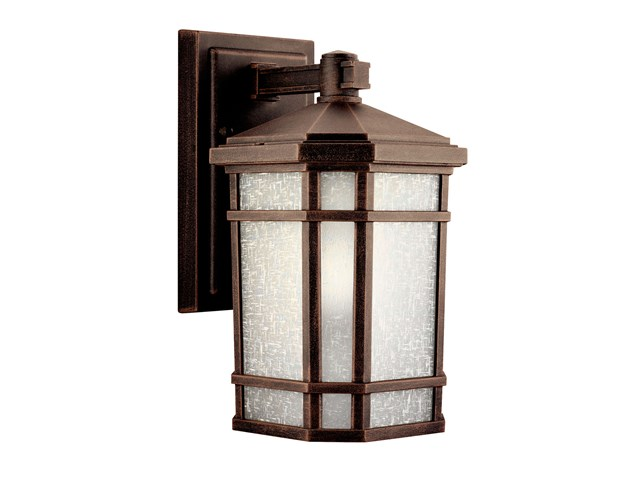 "Cameron™ 10.75"" 1 Light Wall Light Prairie Rock"