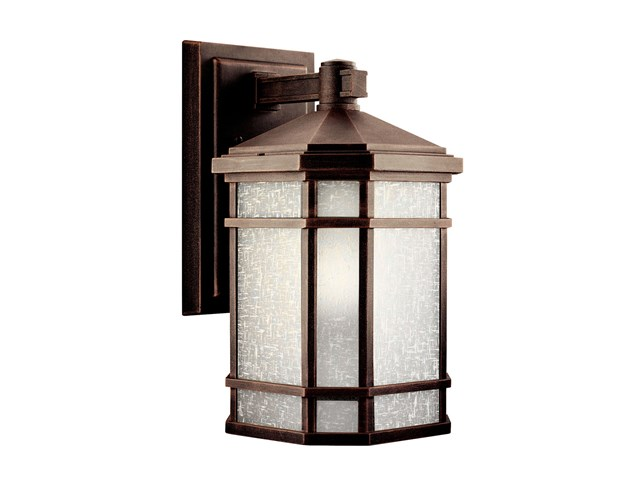 "Cameron™ 14.25"" 1 Light Wall Light Prairie Rock"