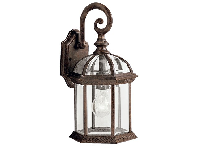 "Barrie™ 15.5"" 1 Light Wall Light Tannery Bronze™"