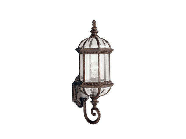 "Barrie™ 21.75"" 1 Light Wall Light Tannery Bronze™"
