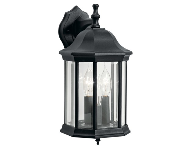 Chesapeake 3 Light Wall Light Black