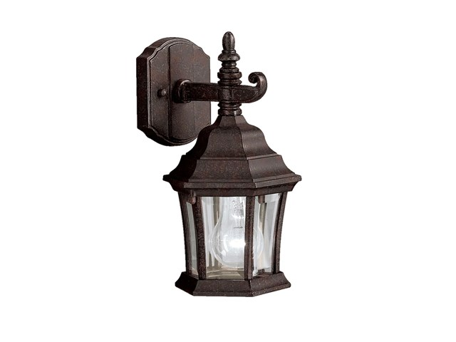 Townhouse 1 Light Wall Light Tannery Bronze™