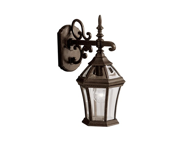 "Townhouse 15.25"" 1 Light Wall Light Tannery Bronze™"