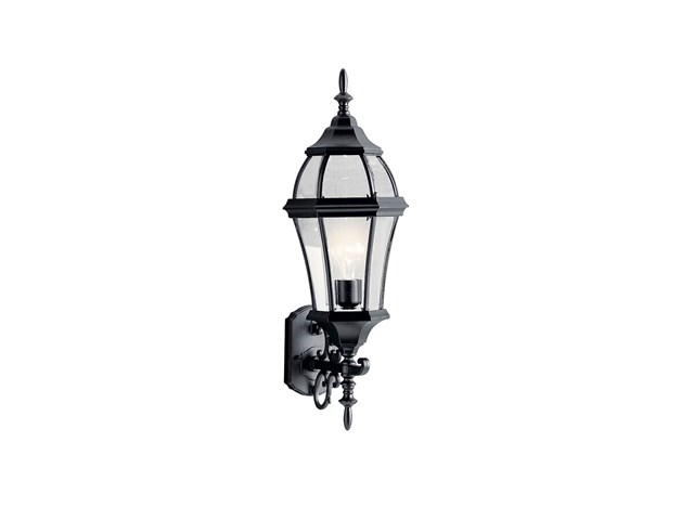 "Townhouse 26.75"" 1 Light Wall Light Black"