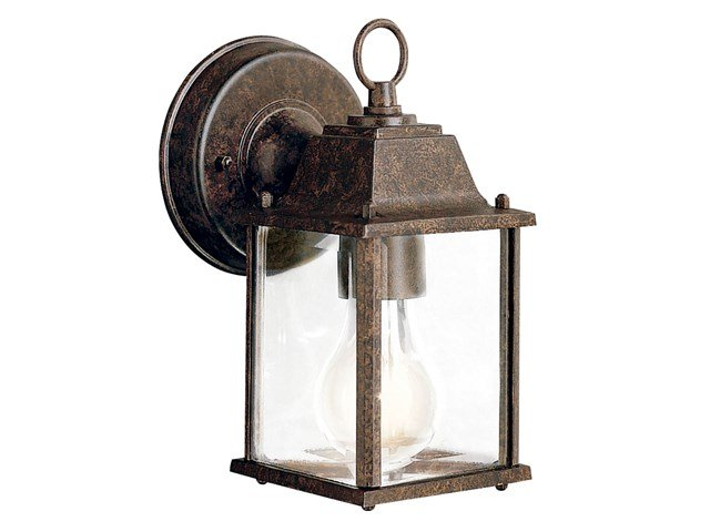 "Barrie™ 8.5"" 1 Light Wall Light Tannery Bronze™"