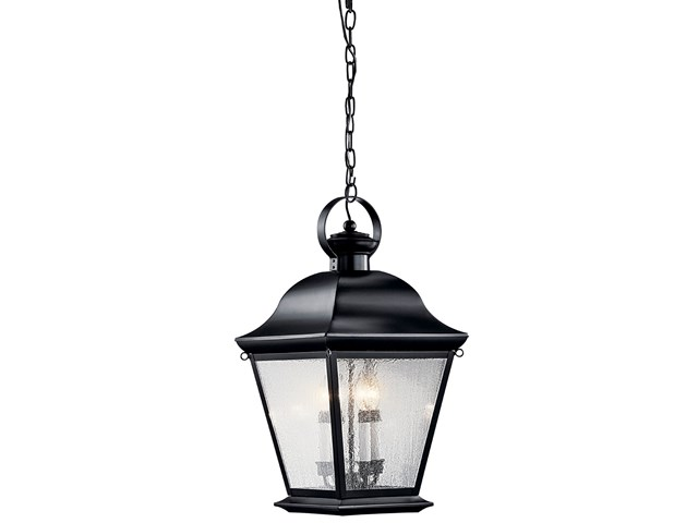 Mount Vernon 4 Light Pendant Black
