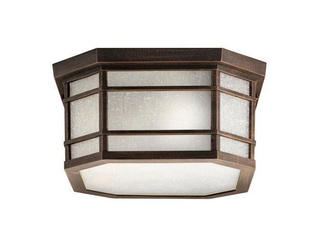 Cameron™ 3 Light Flush Mount Prairie Rock