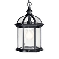 Barrie 1 light Pendant Black