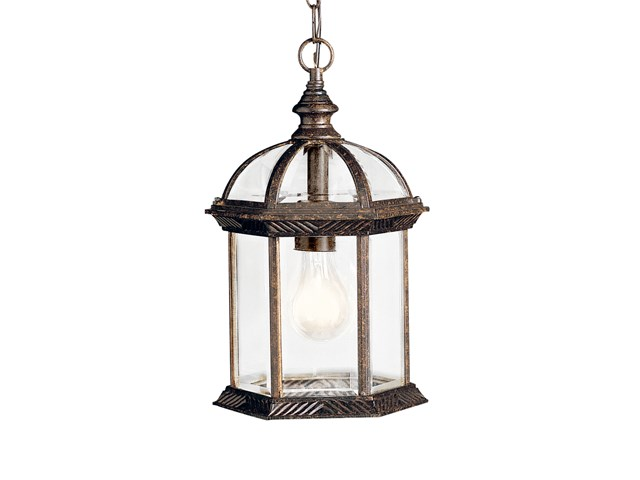 Barrie™ 1 light Pendant with LED Bulb Tannery Bronze™