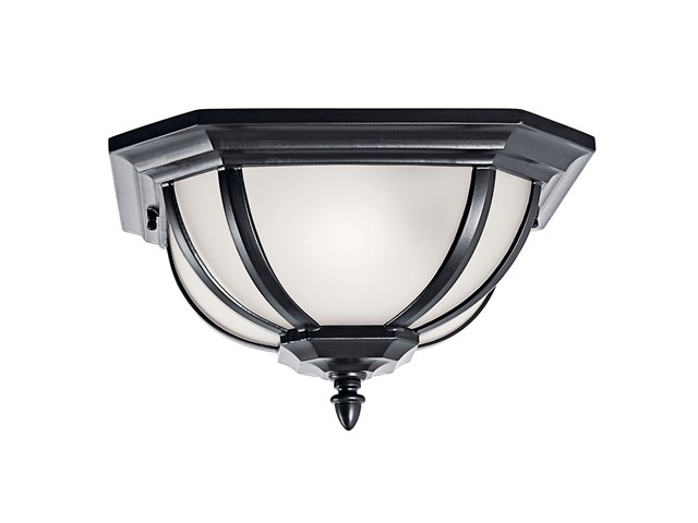 Salisbury™ 2 Light Flush Mount Black