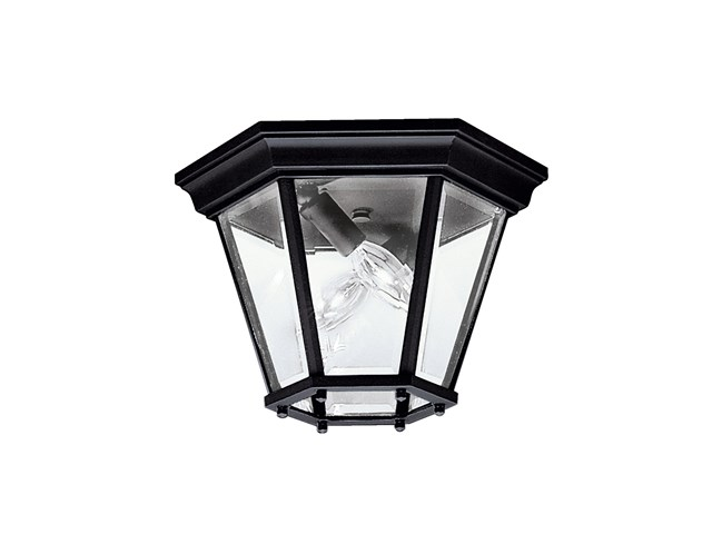 Madison™ 2 Light Flush Mount Black