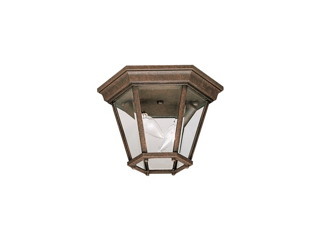 Madison™ 2 Light Flush Mount Tannery Bronze™
