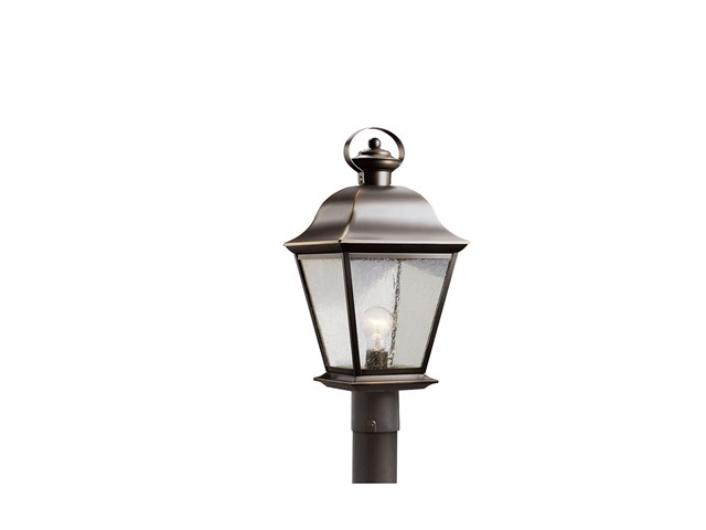 Mount Vernon 1 Light Post Light Olde Bronze®
