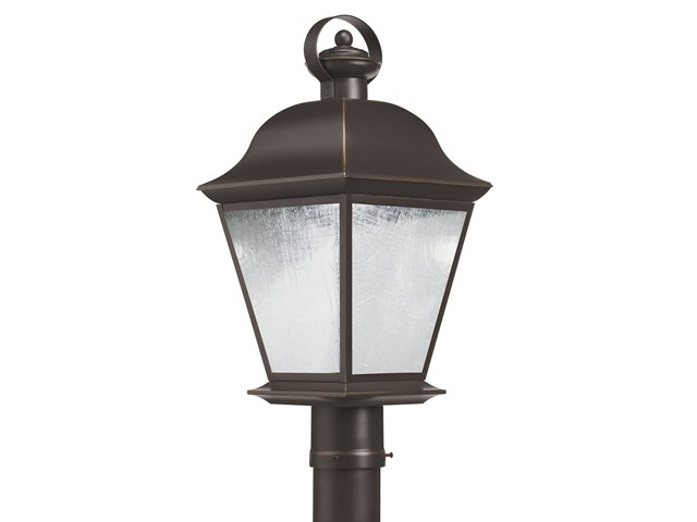 Mount Vernon 1 Light LED Post Light Olde Bronze®