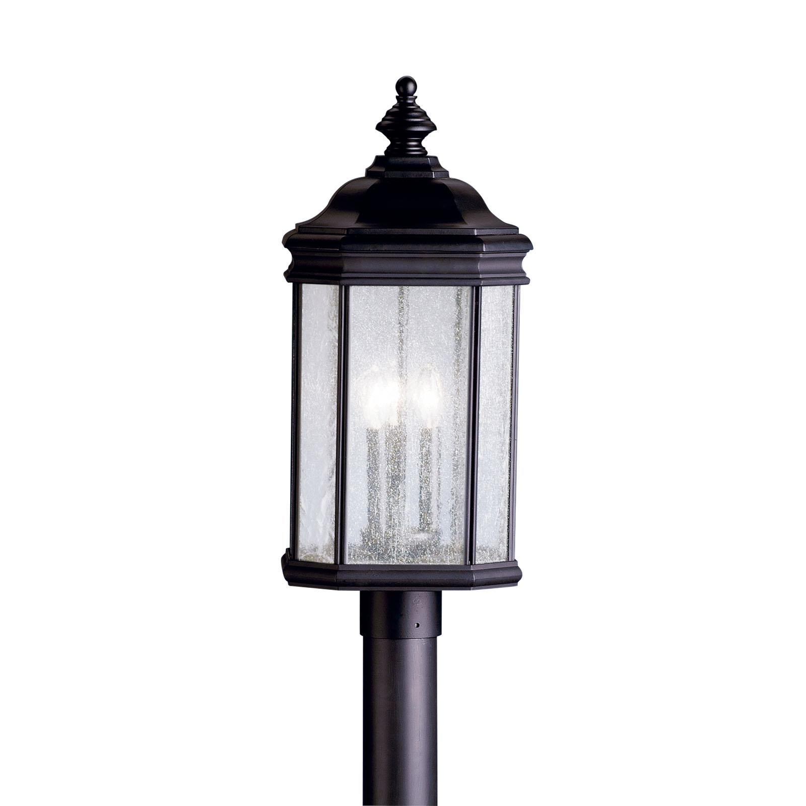 KIC 9918BK 3X60C Black Post Light