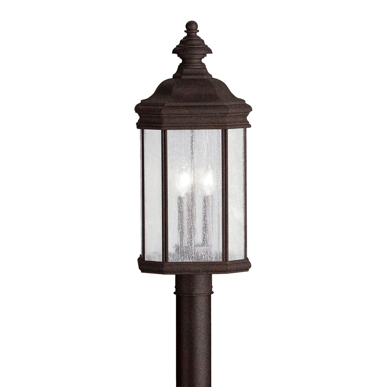 Kirkwood™ 3 Light Post Light Tannery Bronze™
