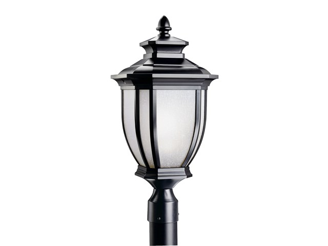 Salisbury™ 1 Light Post Light Black
