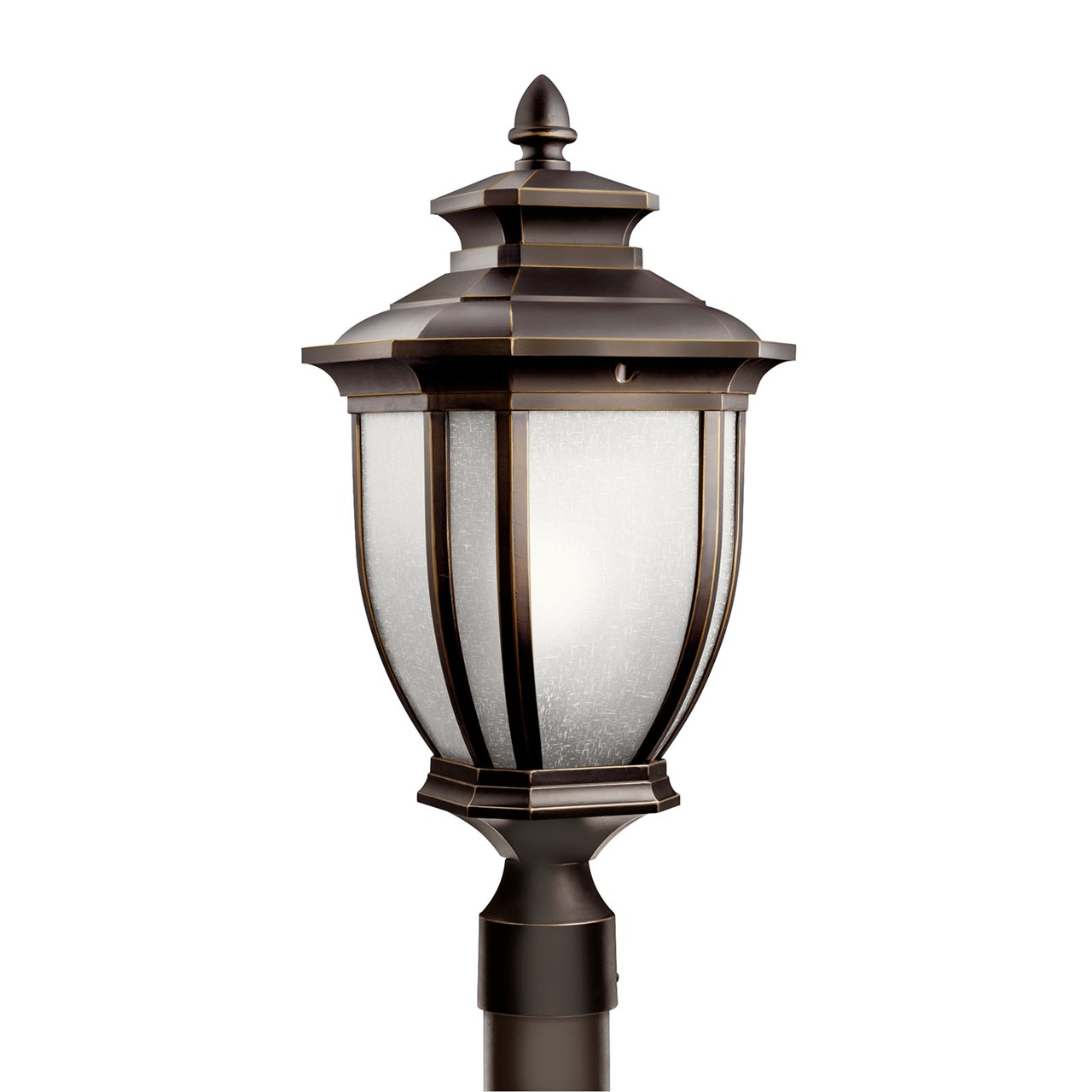 Salisbury™ 1 Light Post Light Rubbed Bronze™