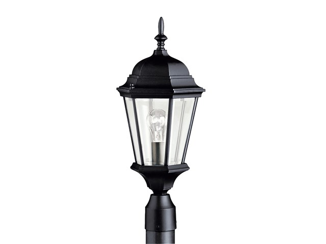 Madison™ 1 Light Post Light Black