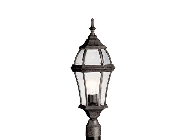 Townhouse 1 Light Post Mount Tannery Bronze™