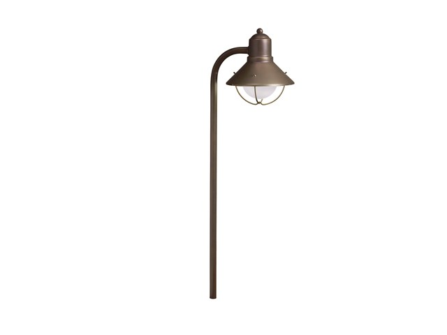 Traditional Marine Lantern 12V Path Light Olde Bronze®