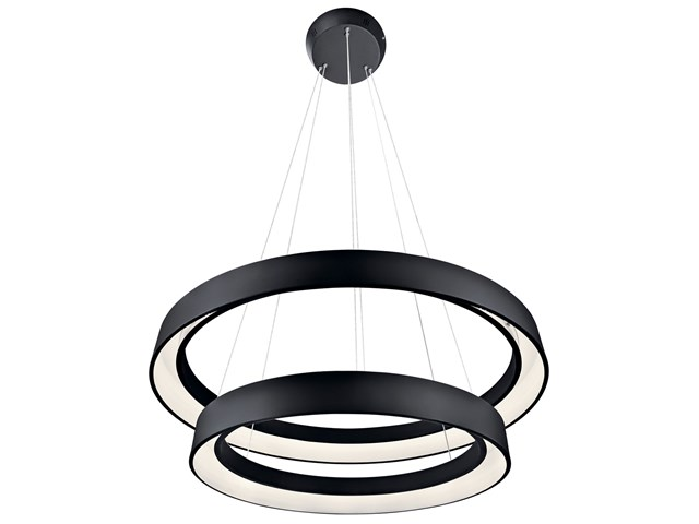 Fornello™ 2 Light LED Pendant Black