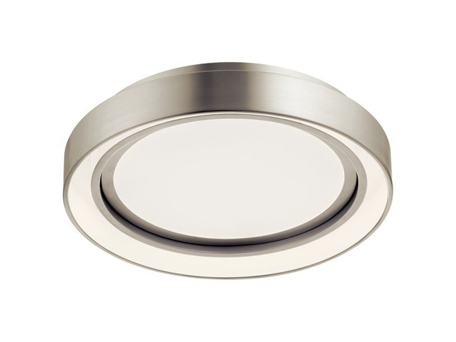 "Fornello™ 14"" Flush Mount Brushed Nickel"