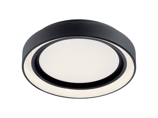 "Fornello™ 14"" Flush Mount Black"